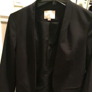 Collarless Loft blazer